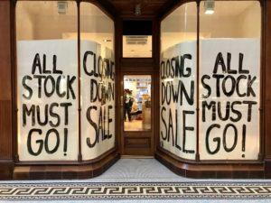 Restart business liquidation