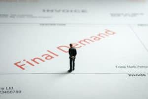 Corporation tax demand